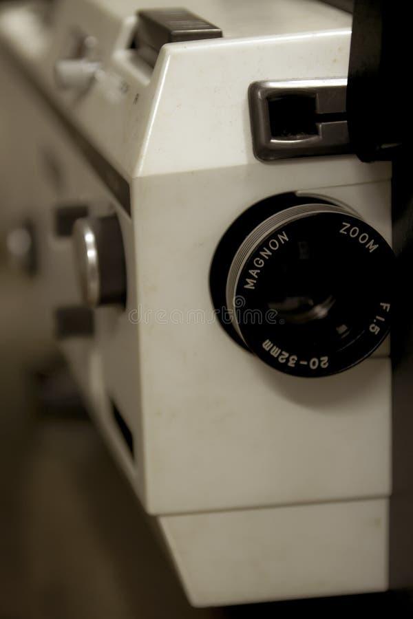 Un vieux projecteur de Magnon de cru image libre de droits