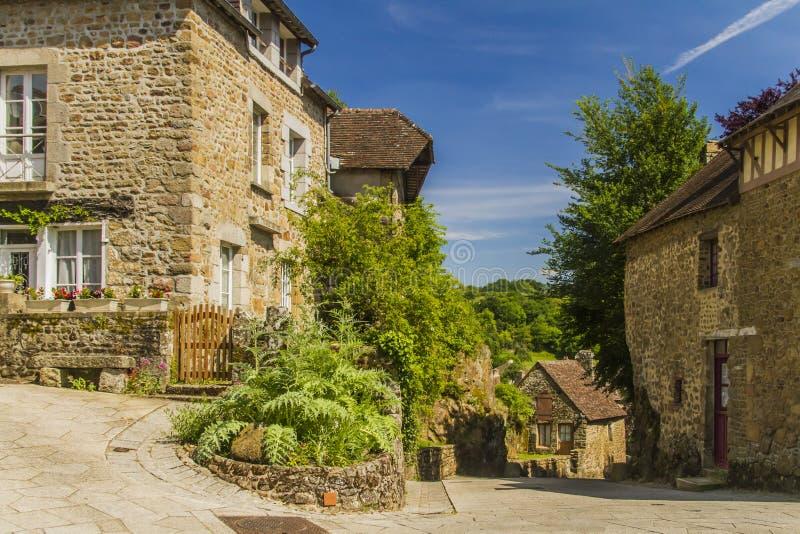 Un vieux village image libre de droits