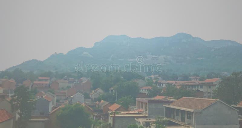 un village chinois image stock