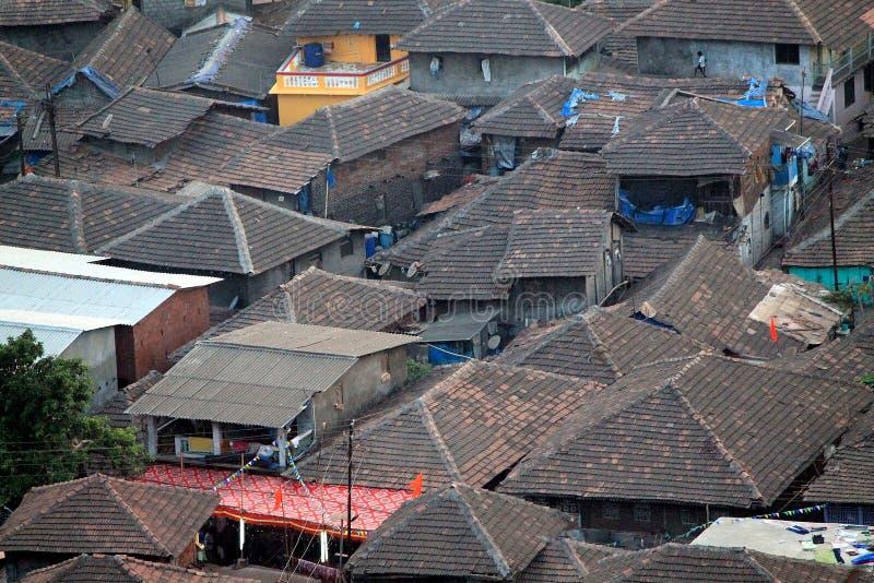 Un villaggio da Konkan fotografia stock libera da diritti