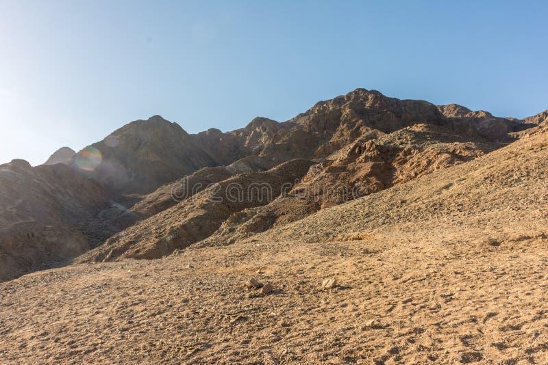 Un voyage au d?sert de Sinai images stock