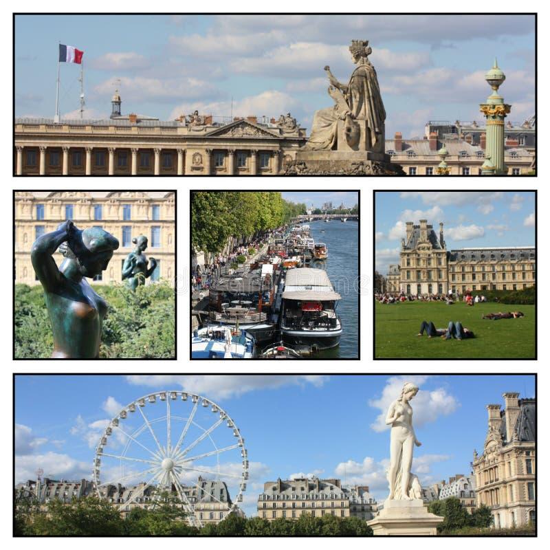 Un voyage vers Paris, France photographie stock