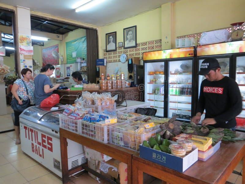 Un wagon-restaurant indonésien à Jakarta image libre de droits
