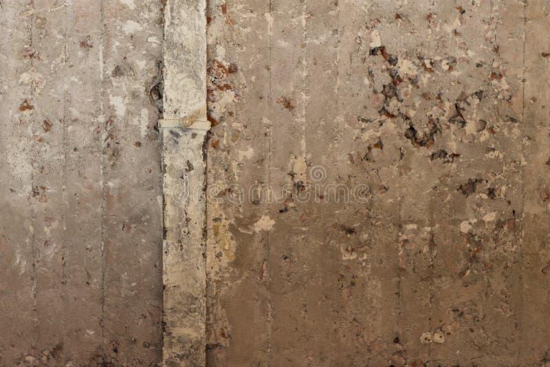 Un wal concreto dilapidada imagen de archivo