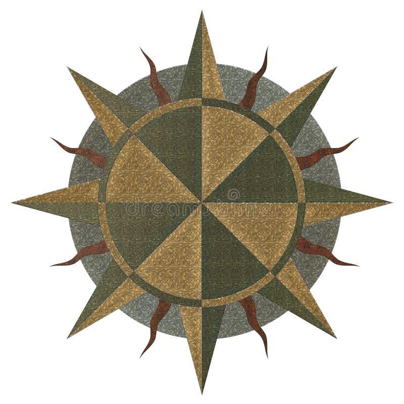 Un windrose illustration libre de droits