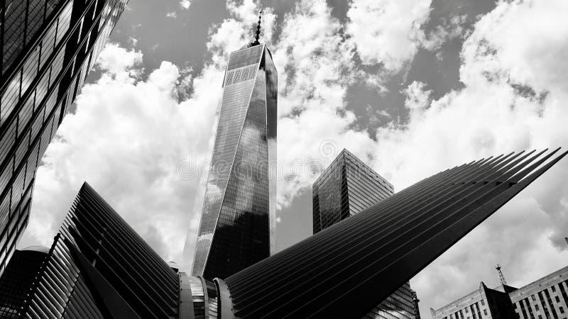 Un World Trade Center, Manhattan, nuova fotografie stock