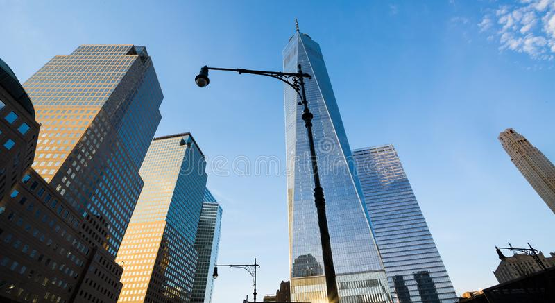 Un World Trade Center, Manhattan, NYC images libres de droits