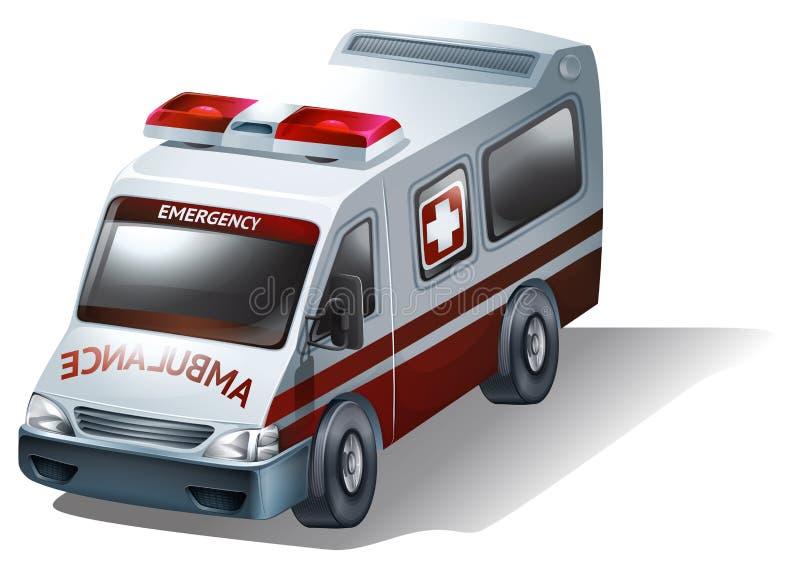 Una ambulancia ilustración del vector