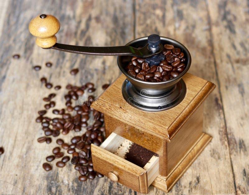 Una amoladora de café foto de archivo libre de regalías