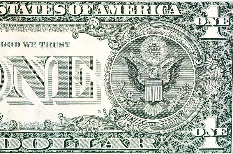 Una banconota in dollari fotografia stock