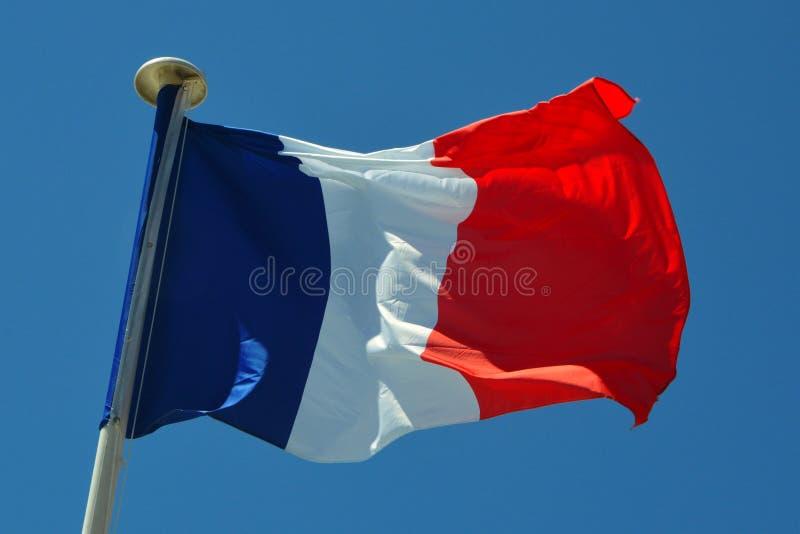 Una bandera de Francia imagen de archivo libre de regalías