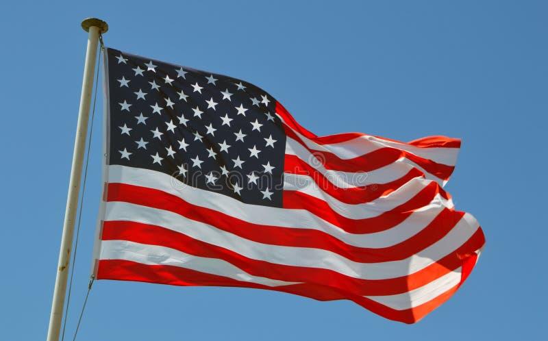 Una bandiera di U.S.A. immagine stock