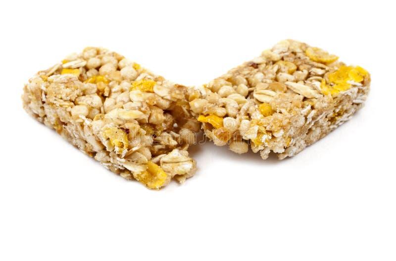 Una barra del cereal imagen de archivo