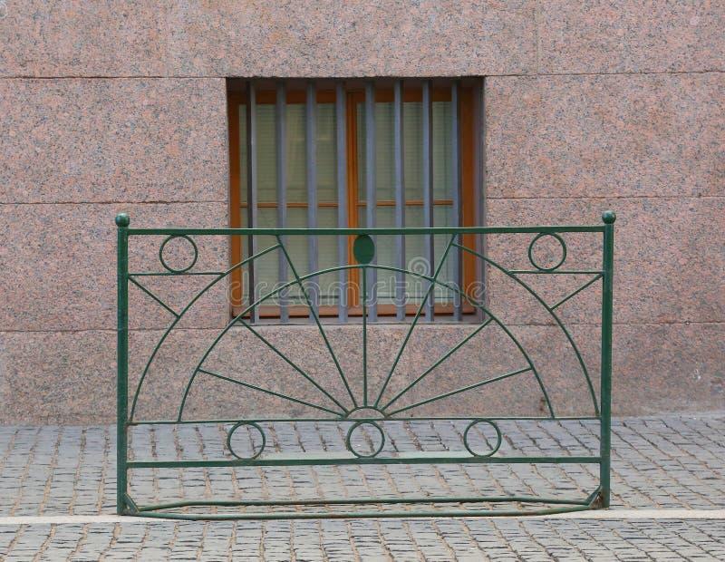 Una barrera portátil del metal fotos de archivo