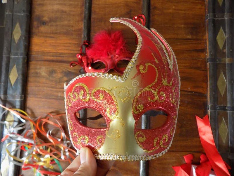 Una bella mascherina immagine stock