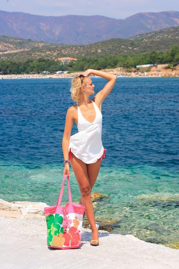 Una bella ragazza immagine stock immagine di greece - Colorazione immagine di una ragazza ...