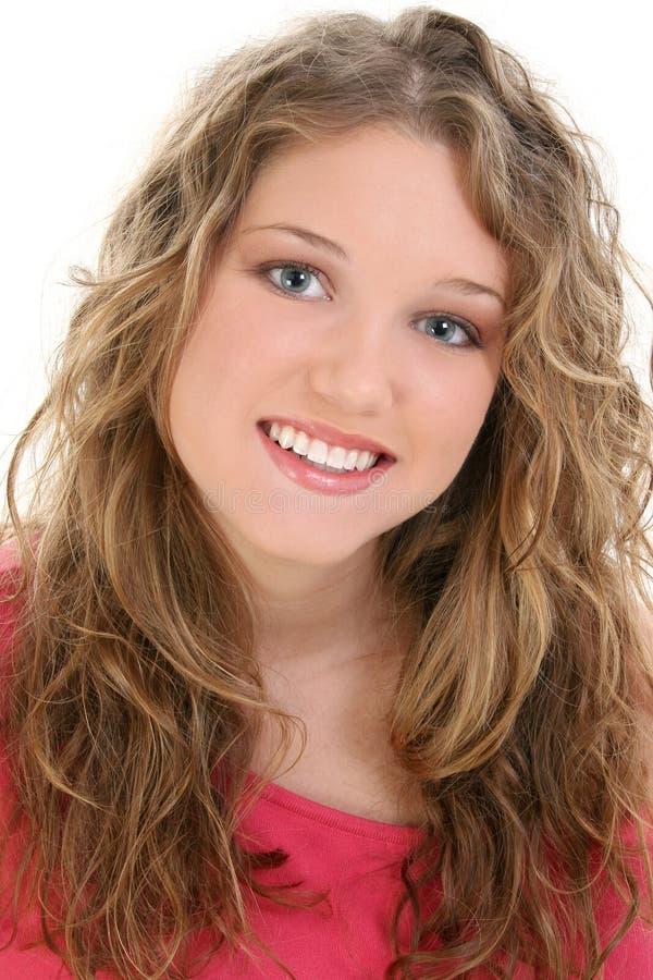 Una bella ragazza teenager di sedici anni fotografie stock