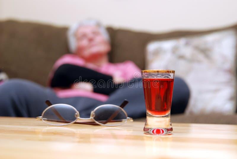 Una bevanda immagini stock libere da diritti