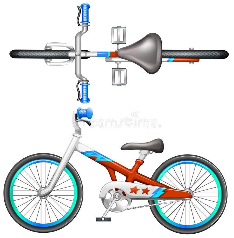 Una bicicleta libre illustration