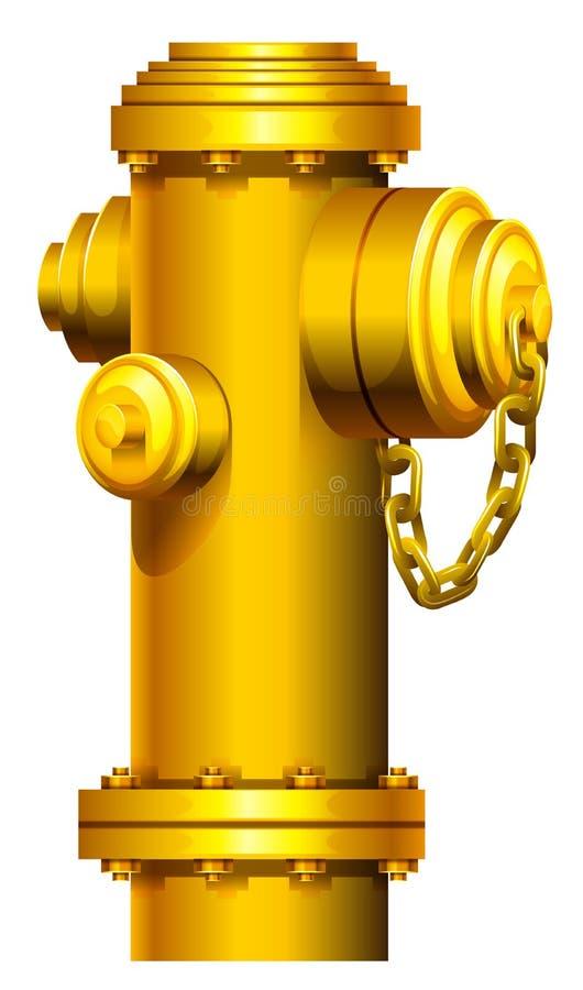 Una boca de incendios ilustración del vector
