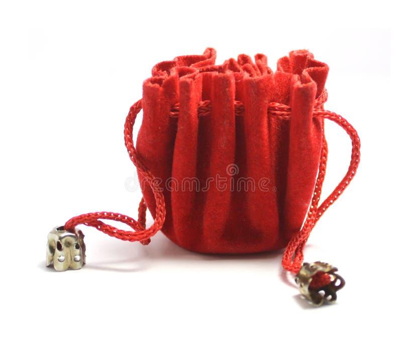 Una bolsa de la joyería imagen de archivo