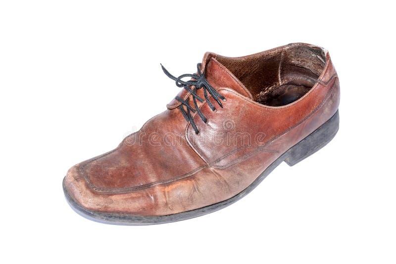 Una bota vieja fotografía de archivo