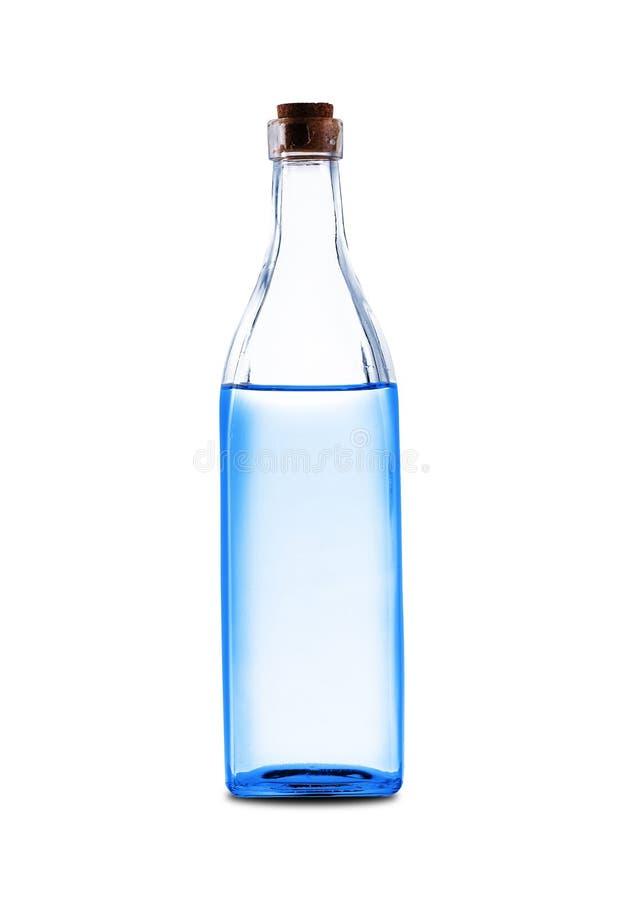 Una botella de cristal grande foto de archivo libre de regalías