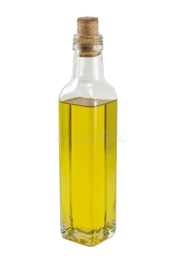 Una bottiglia di olio immagini stock libere da diritti