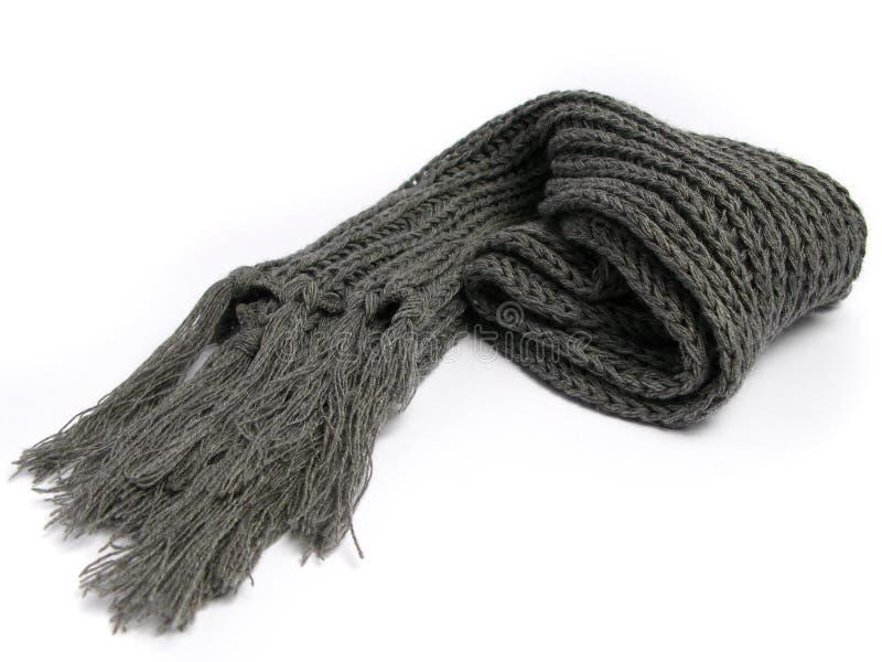 Una bufanda hecha de lana foto de archivo libre de regalías