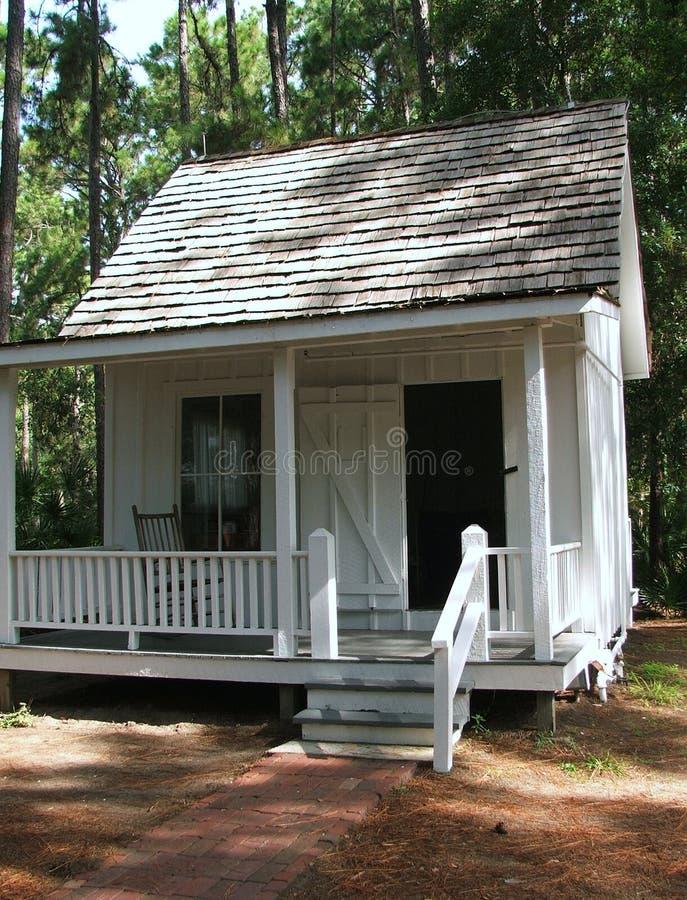 Una cabaña del sitio fotos de archivo