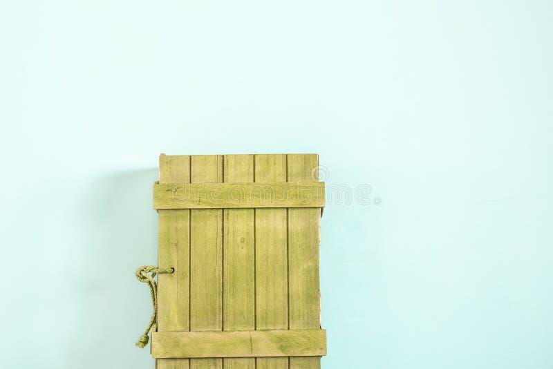 Una caja de madera rústica fotografía de archivo libre de regalías