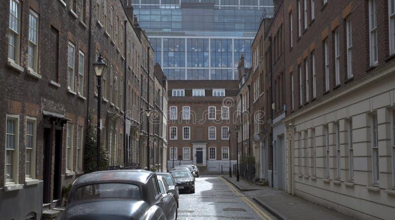 Una calle más vieja, Spitalfields, Londres fotos de archivo libres de regalías