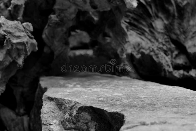 Una calzada de piedra curvada imagenes de archivo