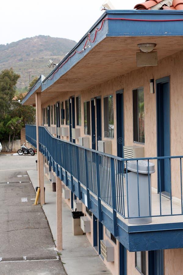 Una calzada más vieja del motel foto de archivo libre de regalías