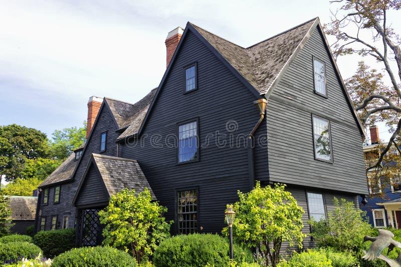 Una Camera di sette timpani Salem fotografia stock libera da diritti