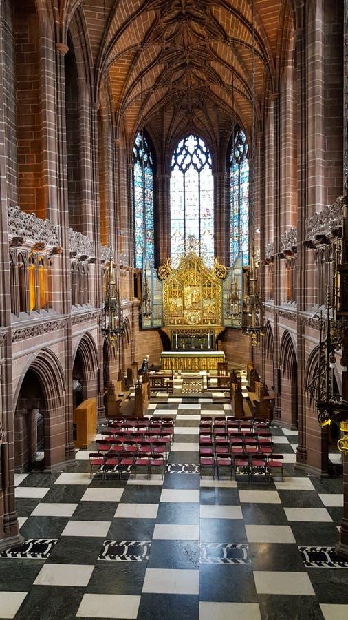 Una capilla de señora hermosa en Liverpool fotografía de archivo libre de regalías