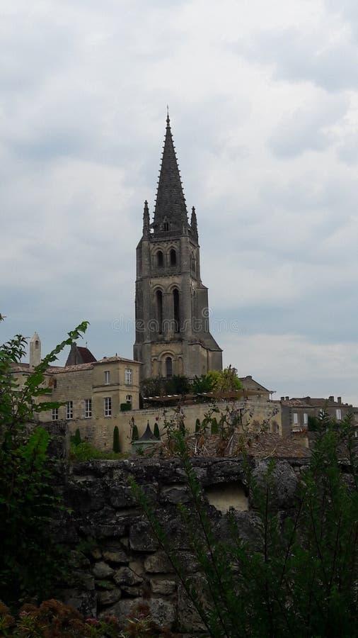 Una capilla en Francia imagen de archivo