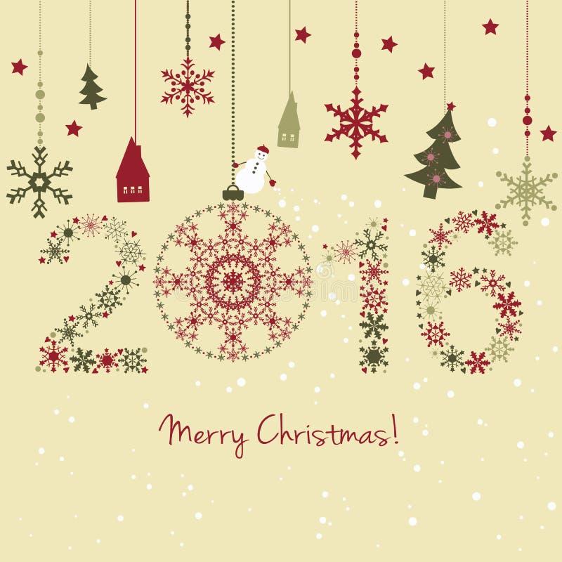 Download Una Carta Da 2015 Nuovi Anni Illustrazione Vettoriale - Illustrazione di natale, illustrazione: 56885395