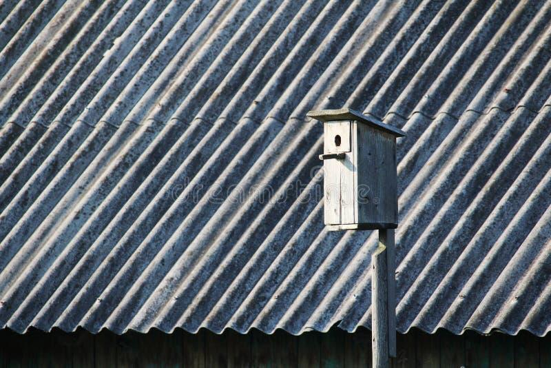 Una casa dello storno fotografia stock