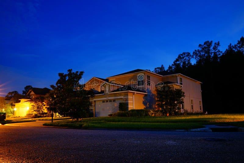 Una casa tipica in Florida immagini stock