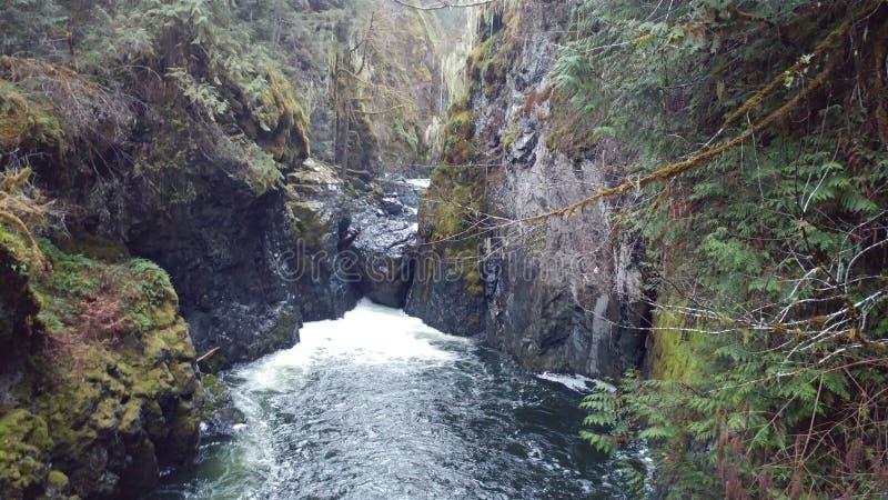 Una cascada wonderous imagen de archivo
