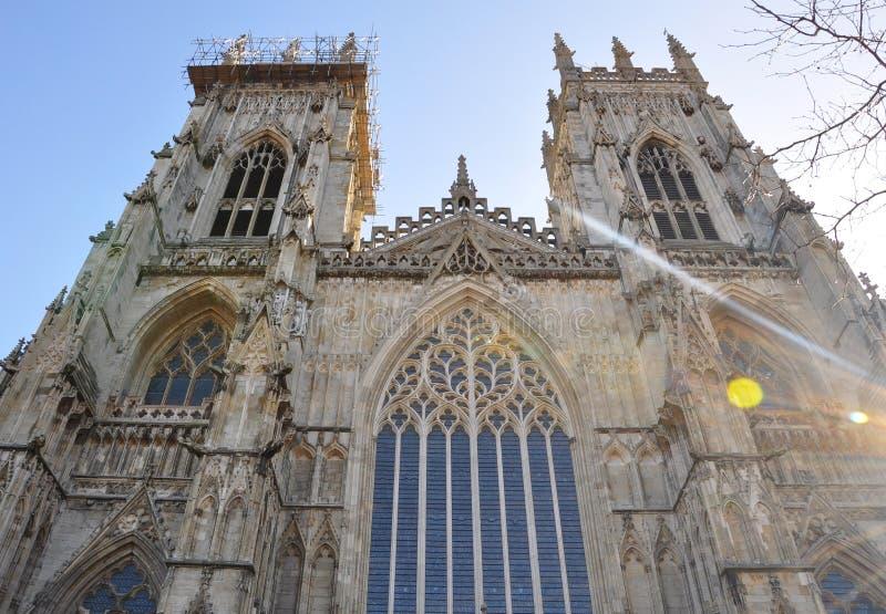 Una cattedrale a York immagini stock
