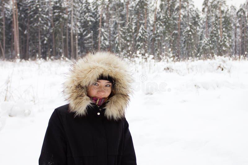 Una chica joven del norte foto de archivo libre de regalías