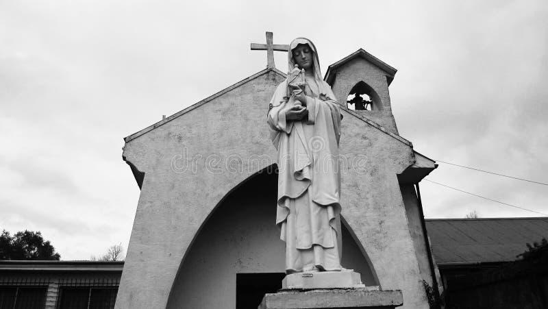 Una chiesa nel sud fotografie stock libere da diritti