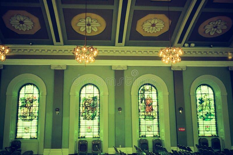 Una chiesa in Ottawa, Canada immagine stock