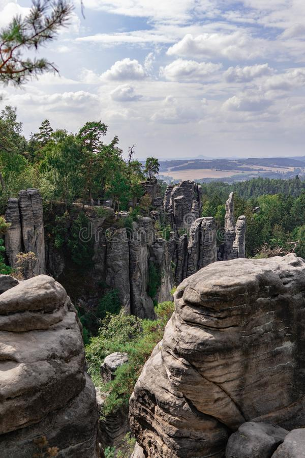 Una cierta belleza de la República Checa imagenes de archivo