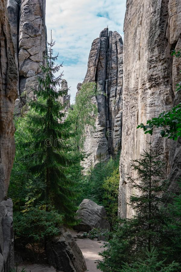 Una cierta belleza de la República Checa foto de archivo libre de regalías