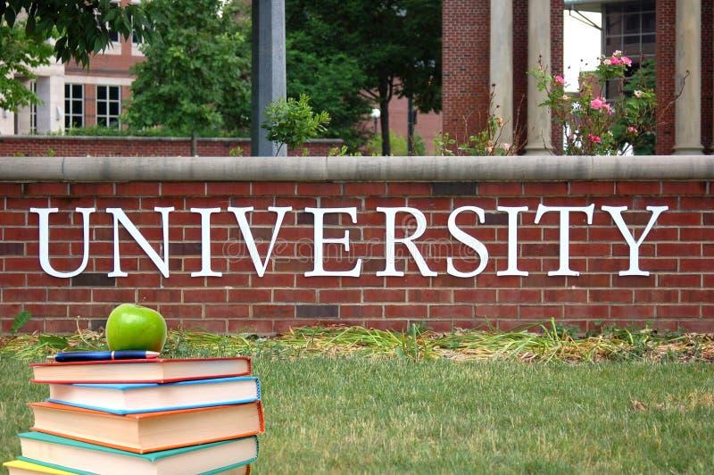 Una città universitaria fotografie stock