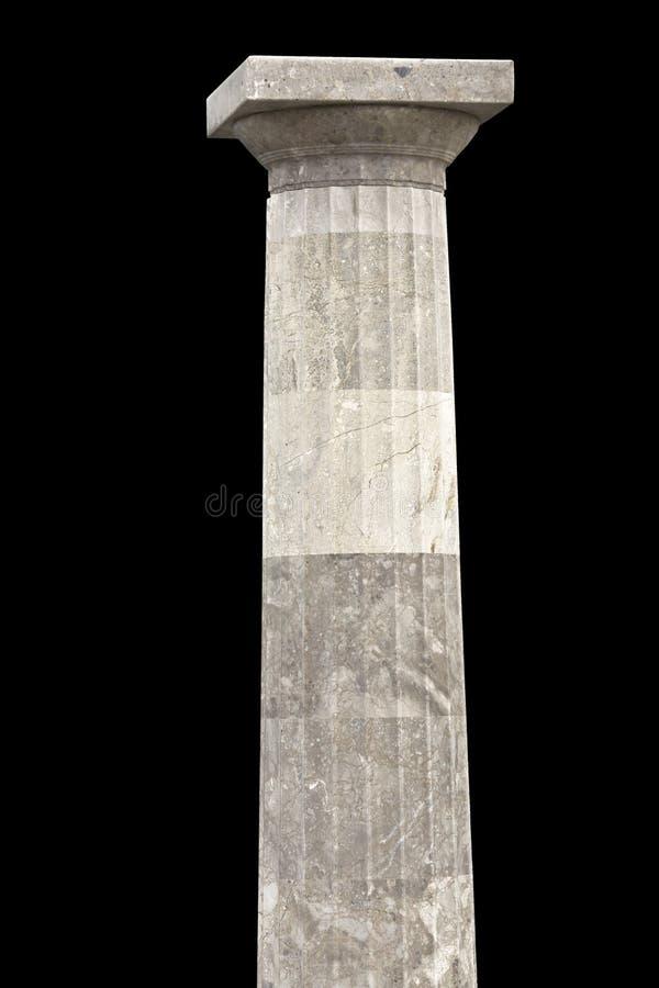 Una colonna doric di ordine fotografia stock libera da diritti