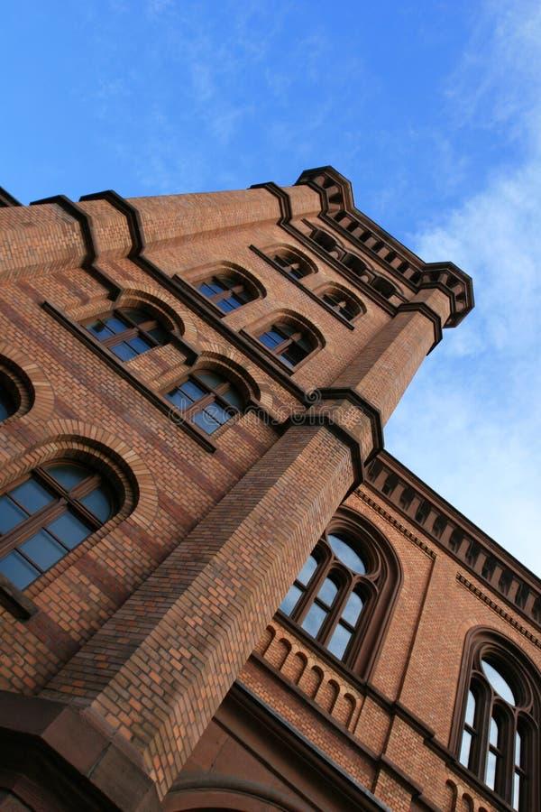 Download Una Costruzione Piacevole A Francoforte Immagine Stock - Immagine di francoforte, mattoni: 3885769